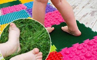 Как выбрать правильный массажный коврик от плоскостопия для детей?
