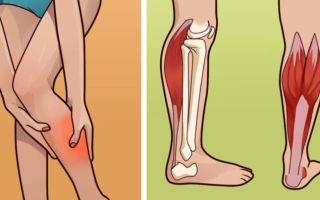 Почему ноют ноги по ночам и сводит икры: причины, первая помощь и лечение