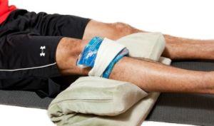 Помощь при ушибе колена