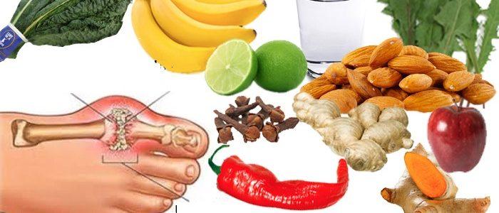 Питание и диета при подагре