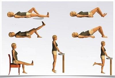 Упражнения для суставов от хруста