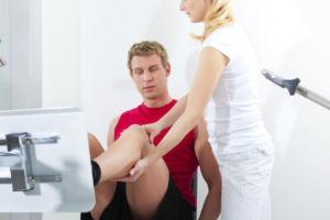 Упражнения для разработки сустава