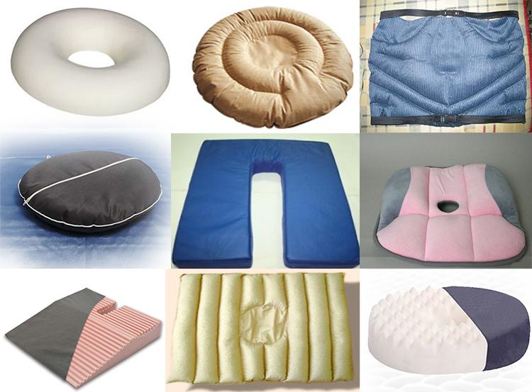 Виды подушек для стула