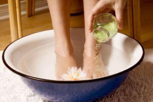 Ванночка из йода и соды