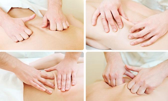 Этапы классического массаж