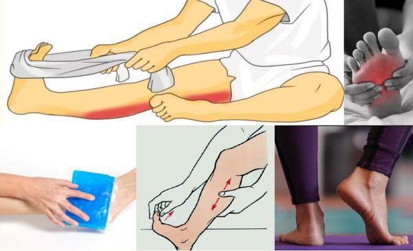 Помощь при судорогах и болях в ногах