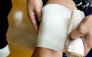 Компресс при бурсите коленного сустава