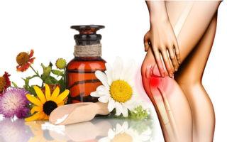 Лучшие рецепты и народные средства от боли в колене и других суставах