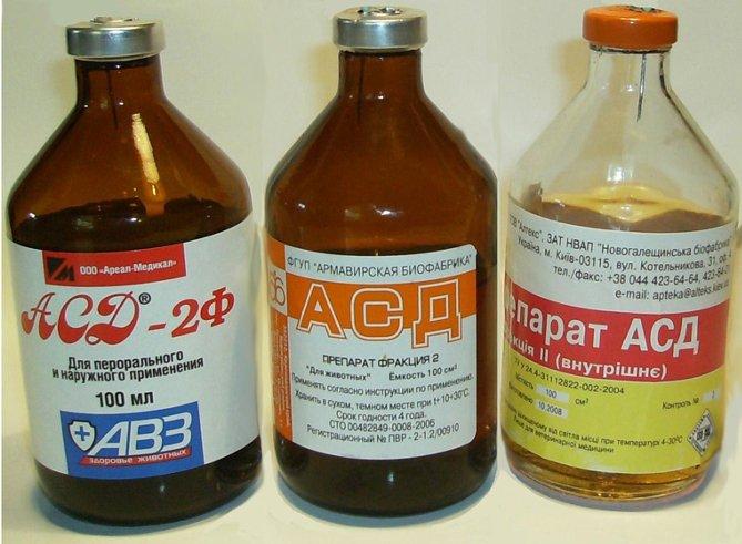 АСД препарат антисептик