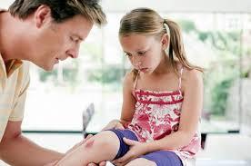 Травма колена у детей