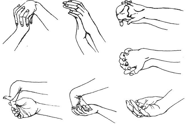 Упражнения для разработки пальцев