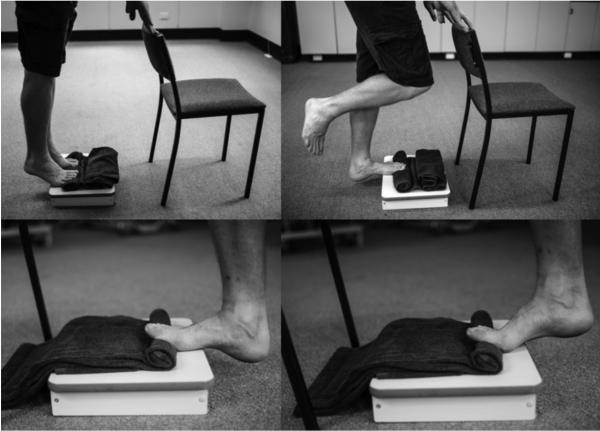 Упражнения для лечения стопы