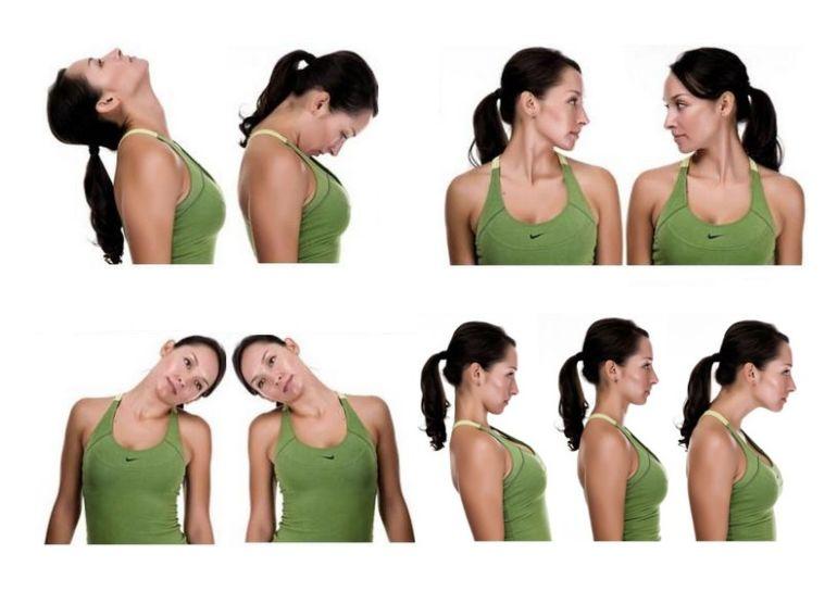 Упражнения для шейного отдела позвоночника при головокружении