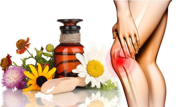 Лечение колена и суставов народными средствами