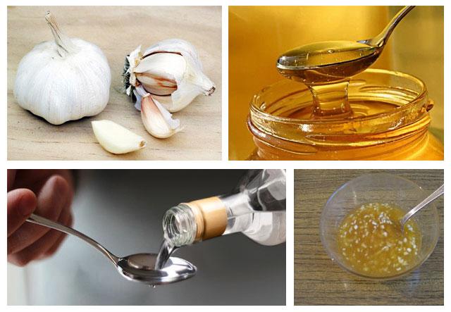 настой лимона, сельдерея и чеснока: