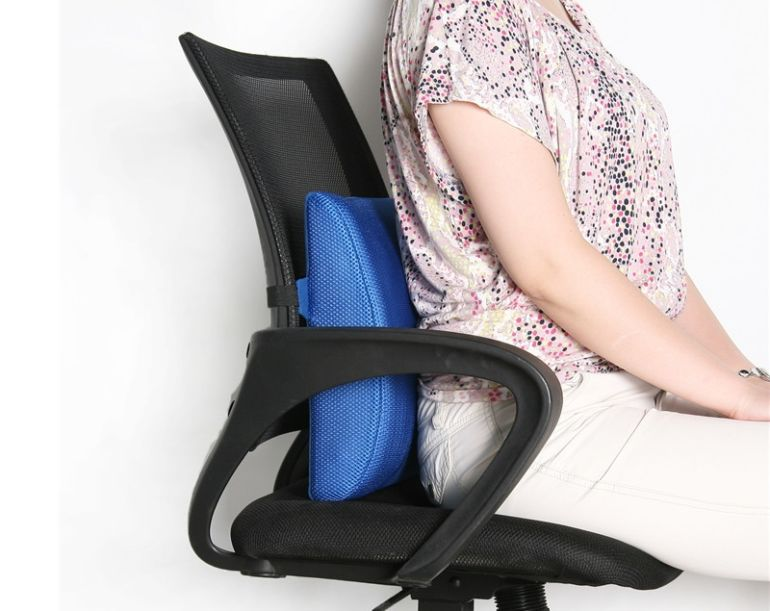 Подушка для стула под спину