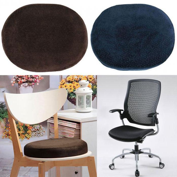 Ортопедическая подушка для стула
