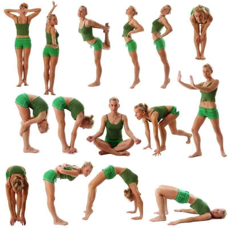 Упражнения для поясницы и спины