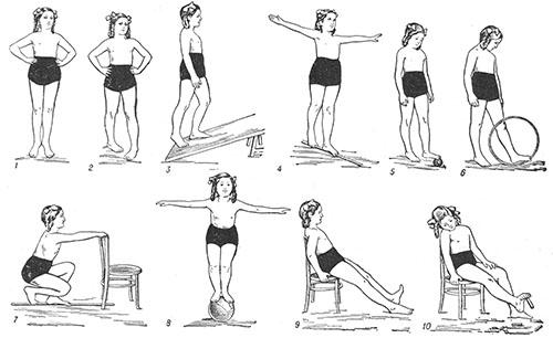 Упражнения для детей дошкольного возраста