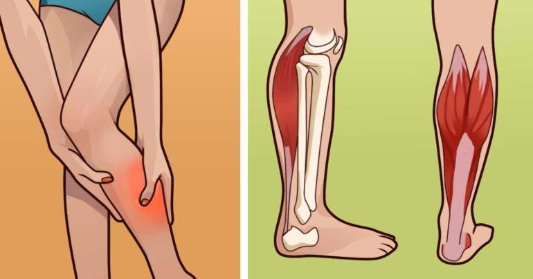 Судорога и боль в ногах