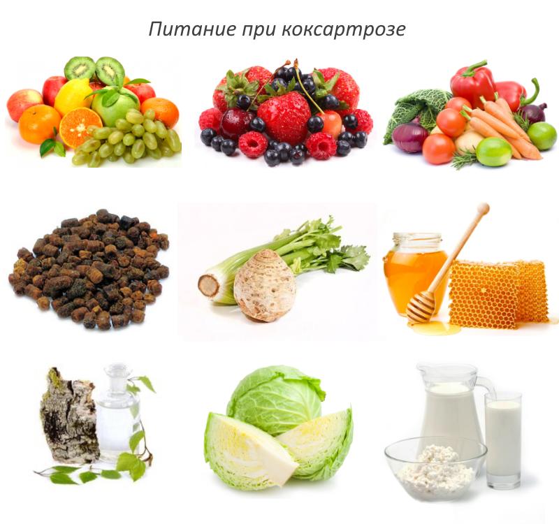 Питание при коксартрозе