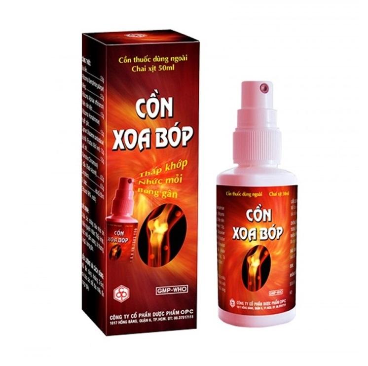 Con Xoa Bop лечебный спрей для суставов и мышц (50 мл)