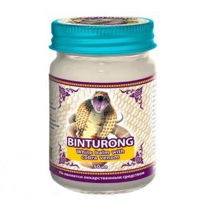 Тайский бальзам с ядом белой кобры Binturong (50 гр)