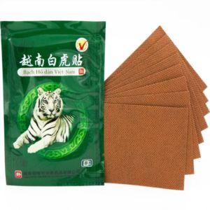 Пластырь Белый тигр Bach Ho Dan Vietnam (8 шт)