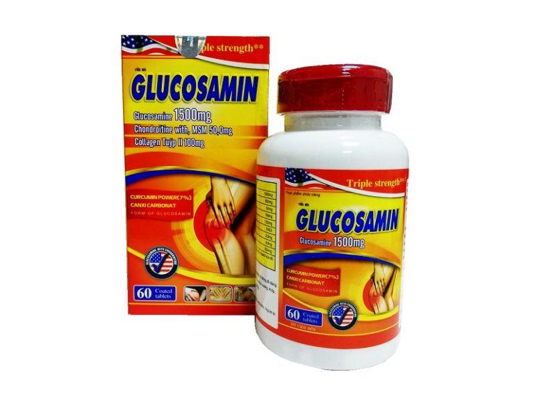 Glucosamine усиленный комплекс для суставов с куркумином и кальцием (60 таблеток)