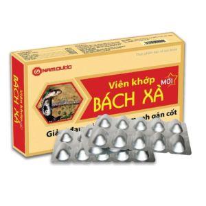 Капсулы Bach Xa с травами и экстрактом королевской кобры Nam Duoc (30 шт.)