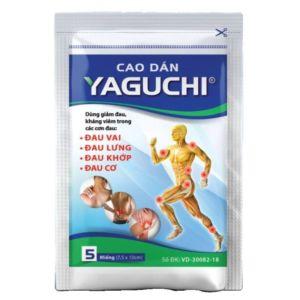 Противовоспалительный пластырь Yaguchi от боли в мышцах и суставах Tatra (5 шт)