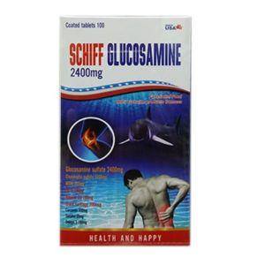 Schiff Glucosamine Gold 2400 мг для здоровья спины и суставов (100 таблеток)