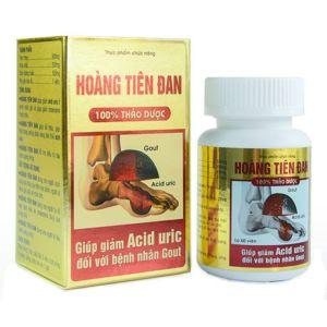 Средство от подагры Hoang Tien Dan на основе лекарственных трав (60 капсул)